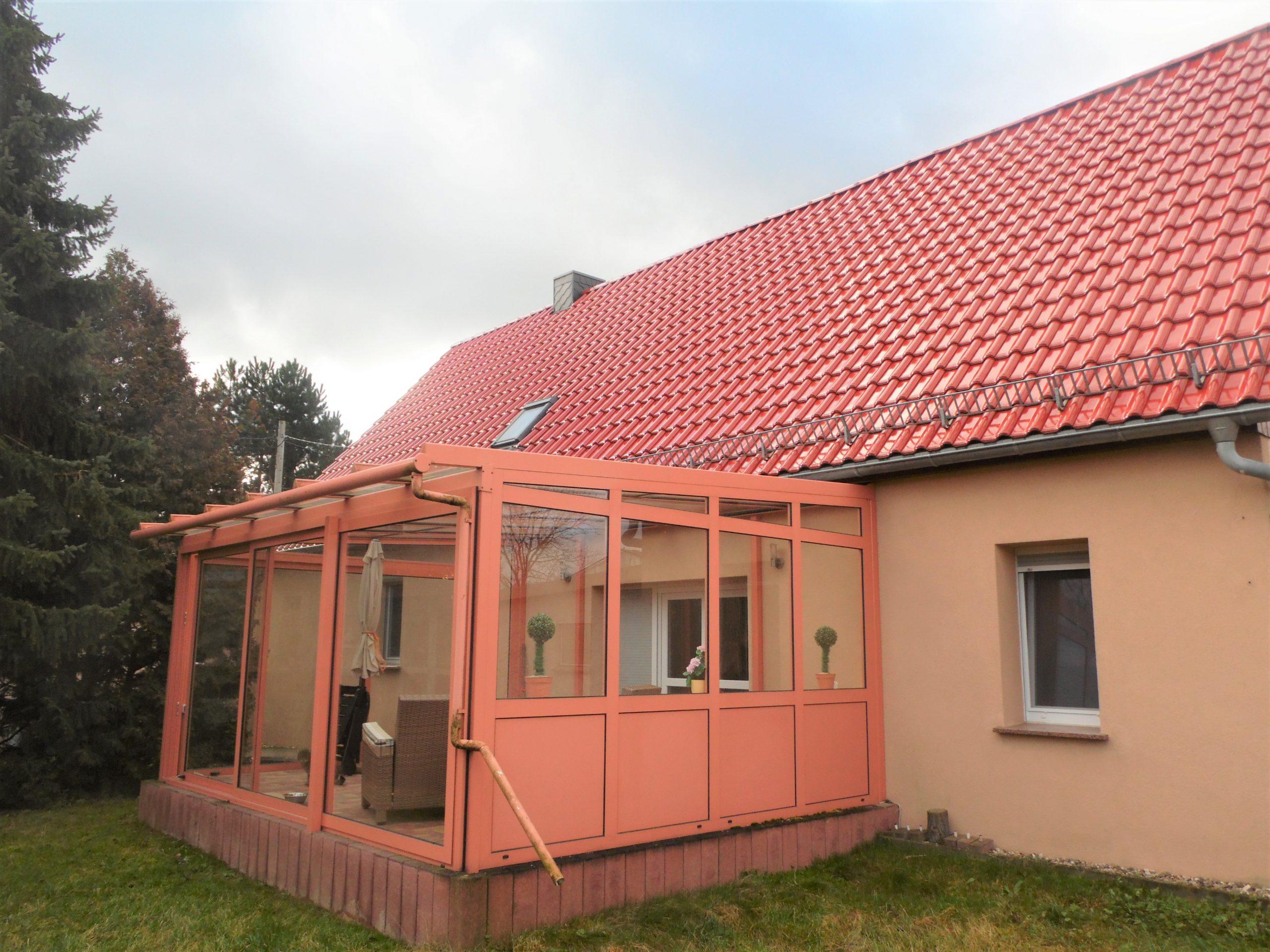 Kleiner Bauernhof in Dößel - Wintergarten