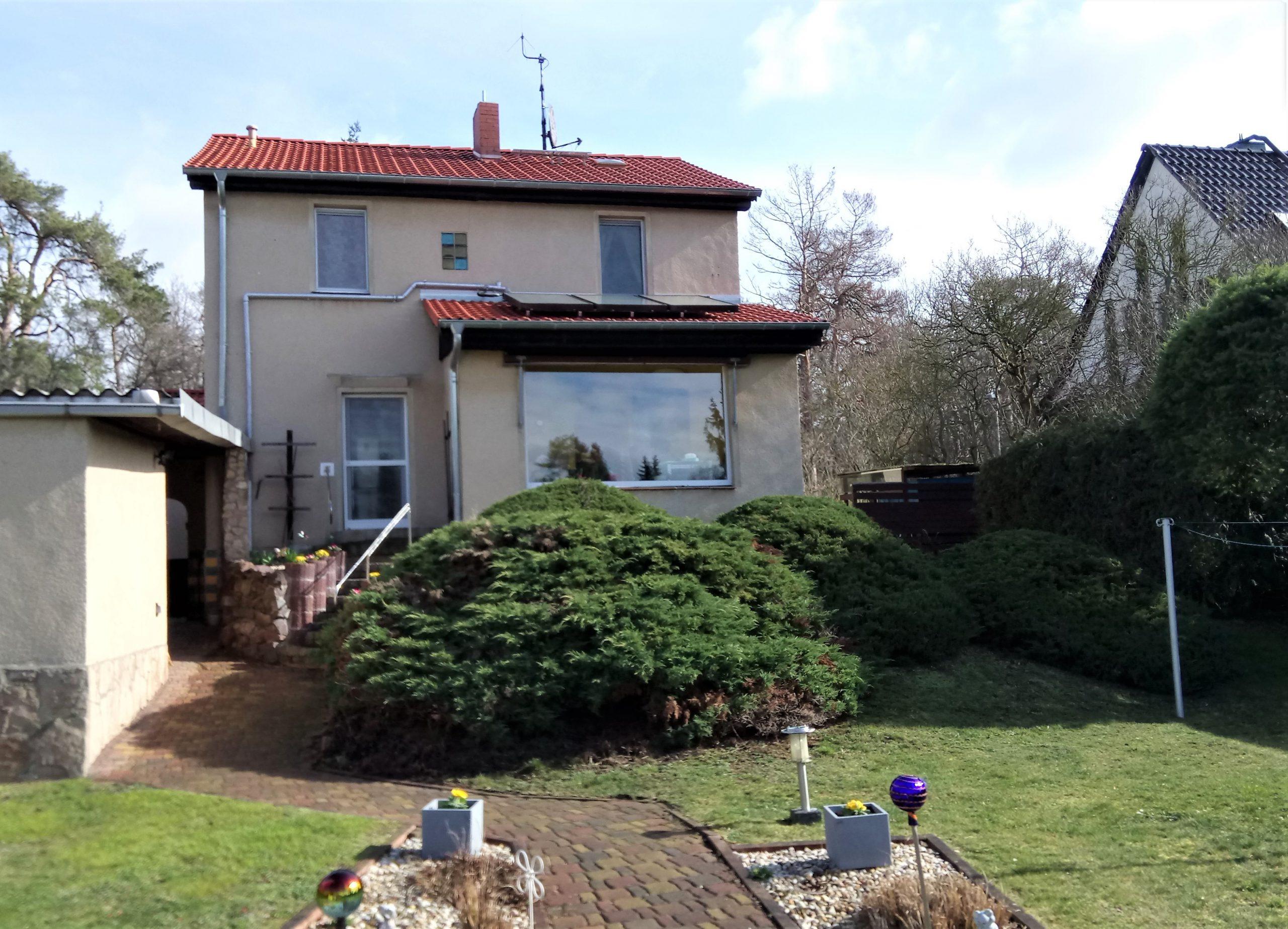 Einfamilienhaus Kröllwitz - Blick vom Garten