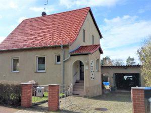 Einfamilienhaus Kröllwitz - Straßenansicht