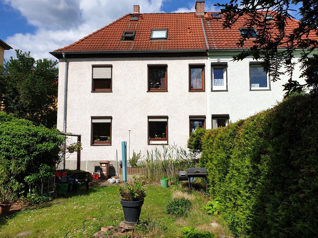 Einfamilienhaus Halle-Süd - Blick vom Garten