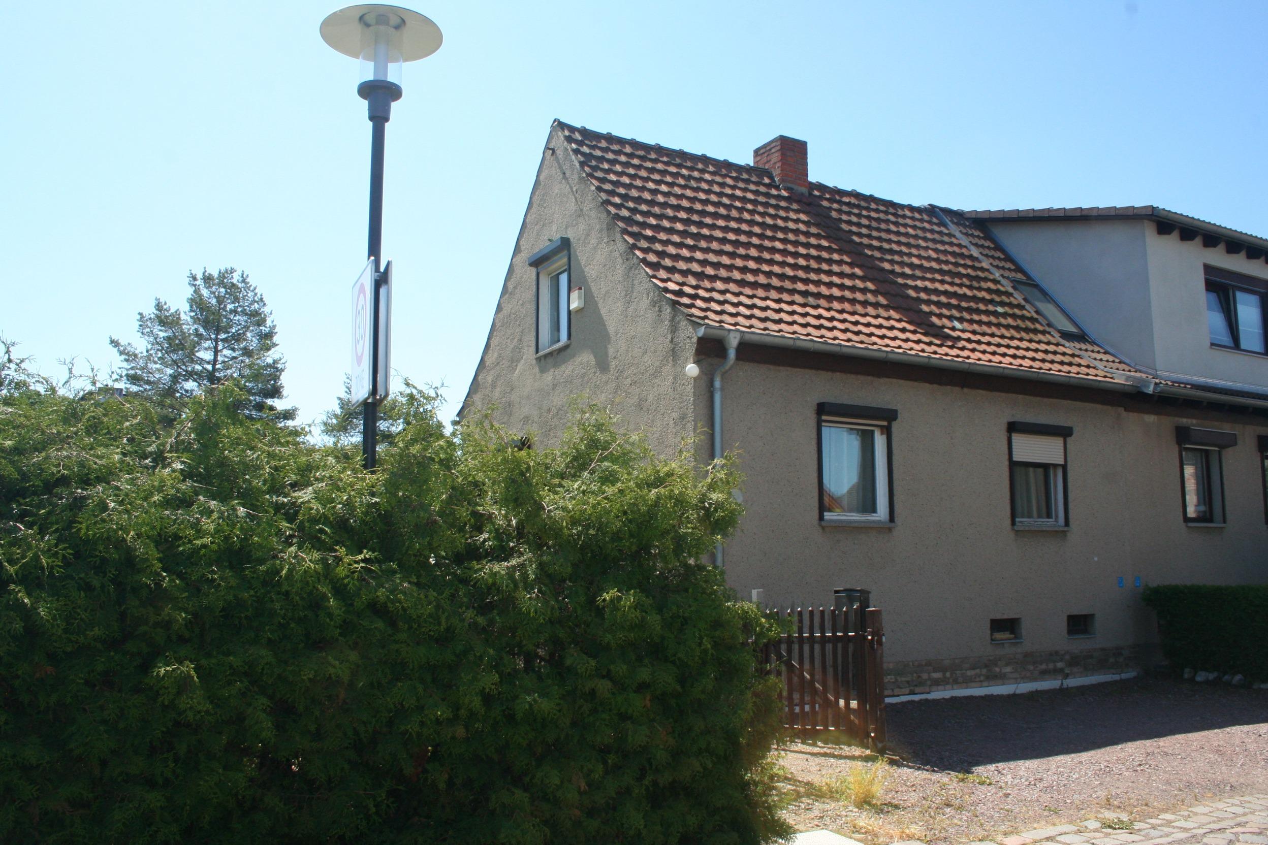 Einfamilienhaus Halle - Straßenansicht