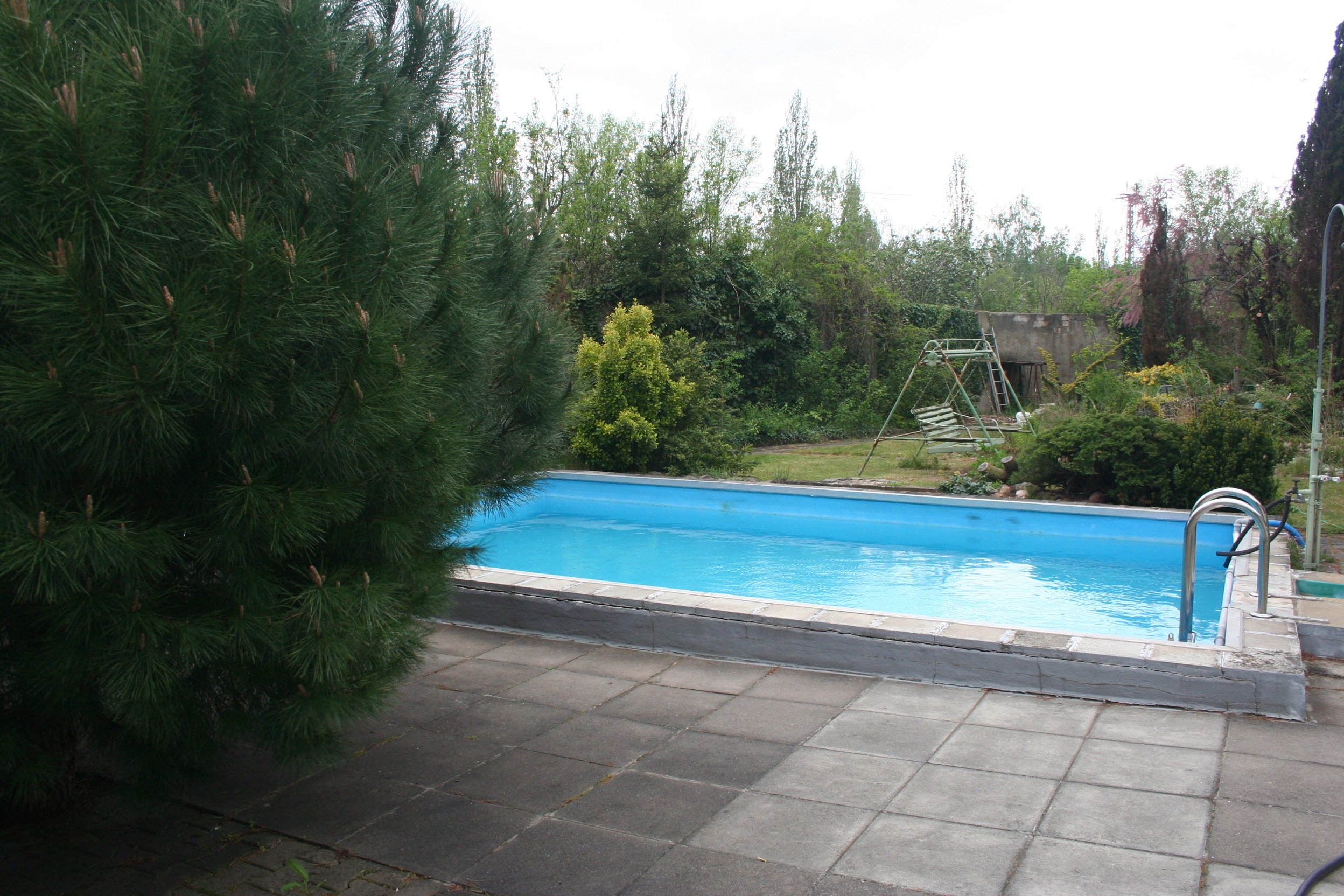 Wochenendidyll in Halle - Pool