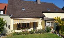 Einfamilienhaus in Könnern - Hausansicht vom Garten