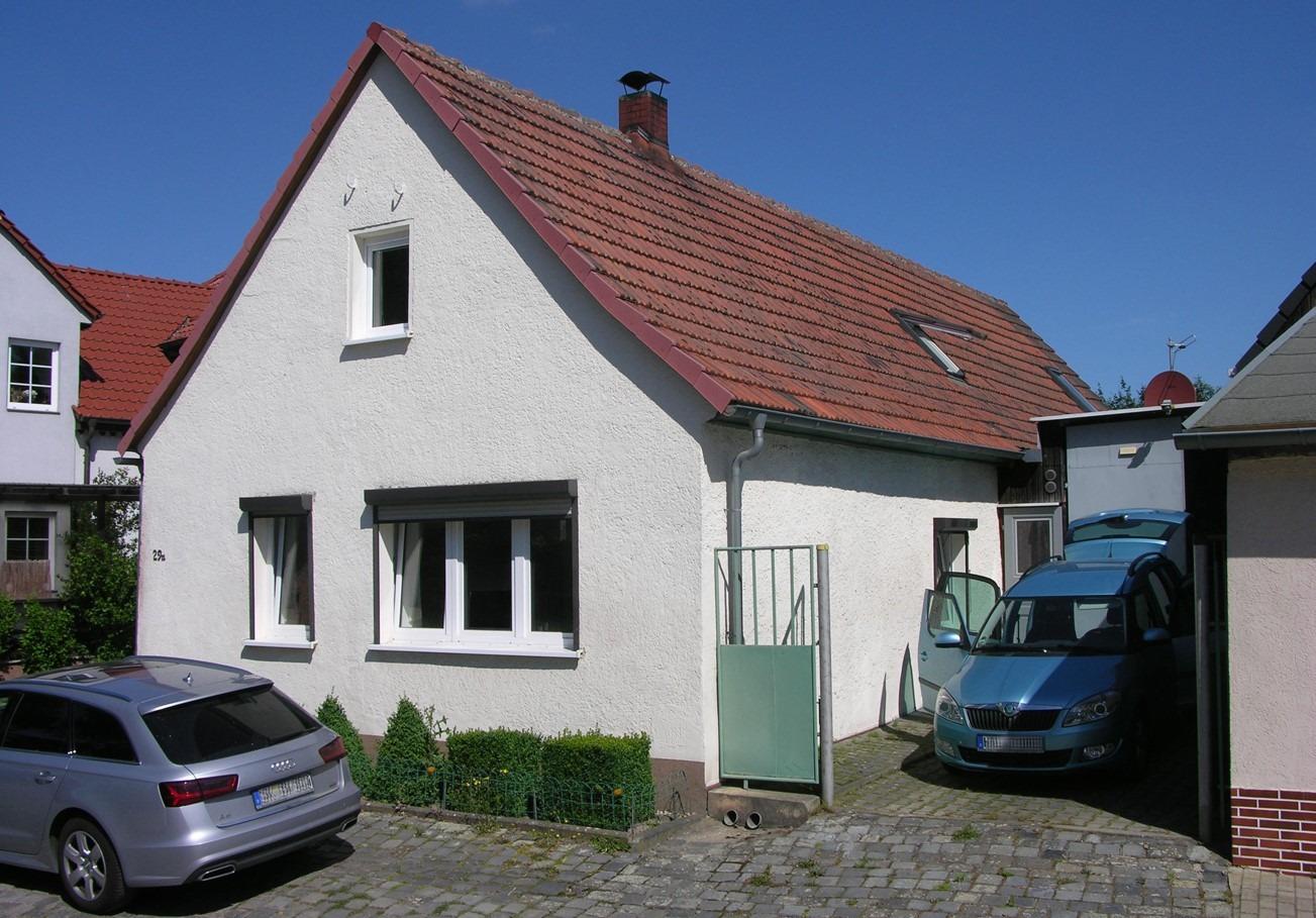 Einfamilienhaus Schmalzerode - Straßenansicht