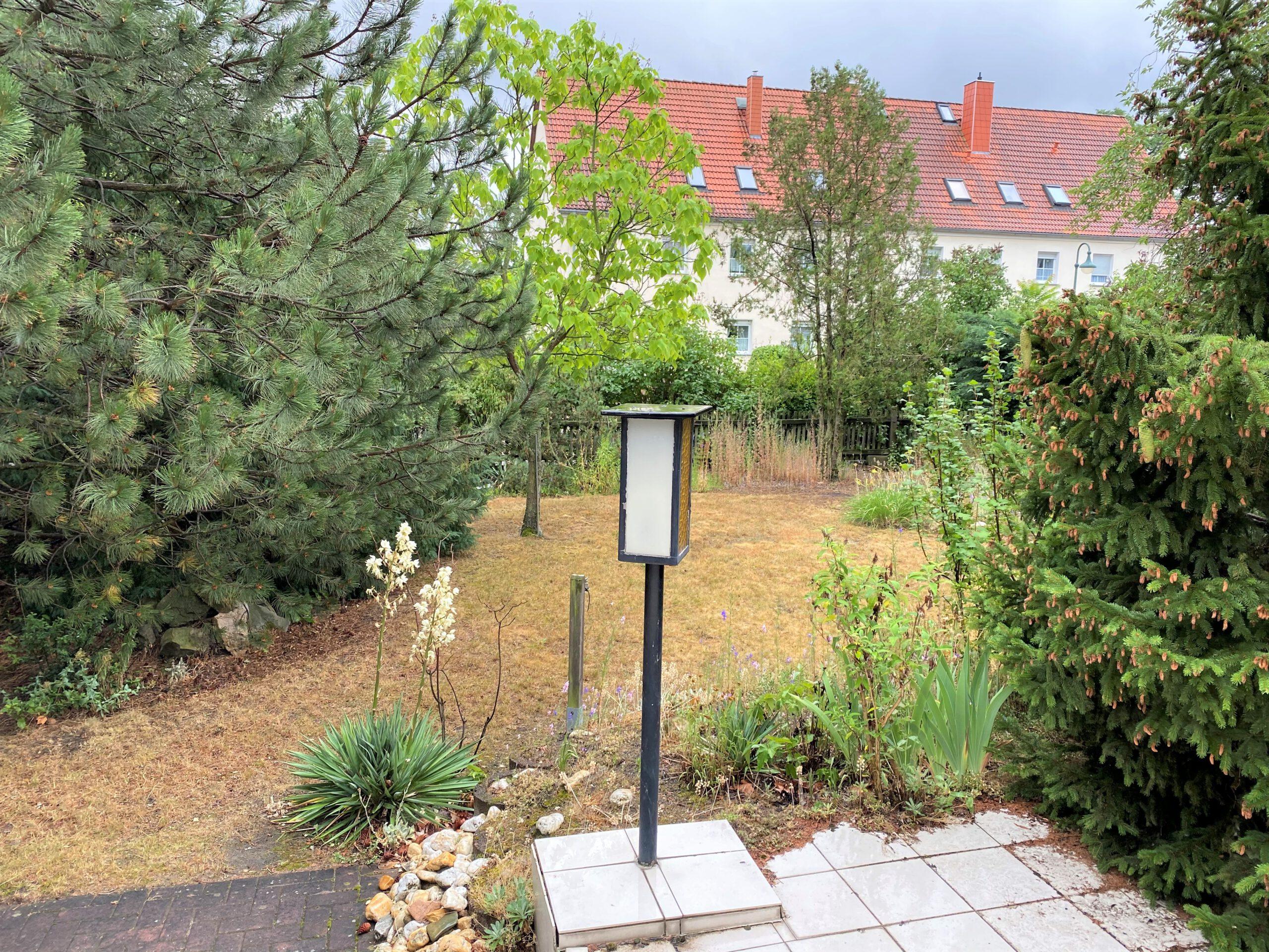 Einfamilienhaus in Leuna - Terrassenblick