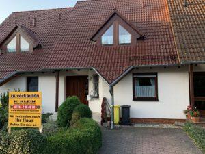 Einfamilienhaus in Bennstedt - Straßenansicht