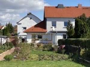 Einfamilienhaus Ellernstraße - Blick vom Garten