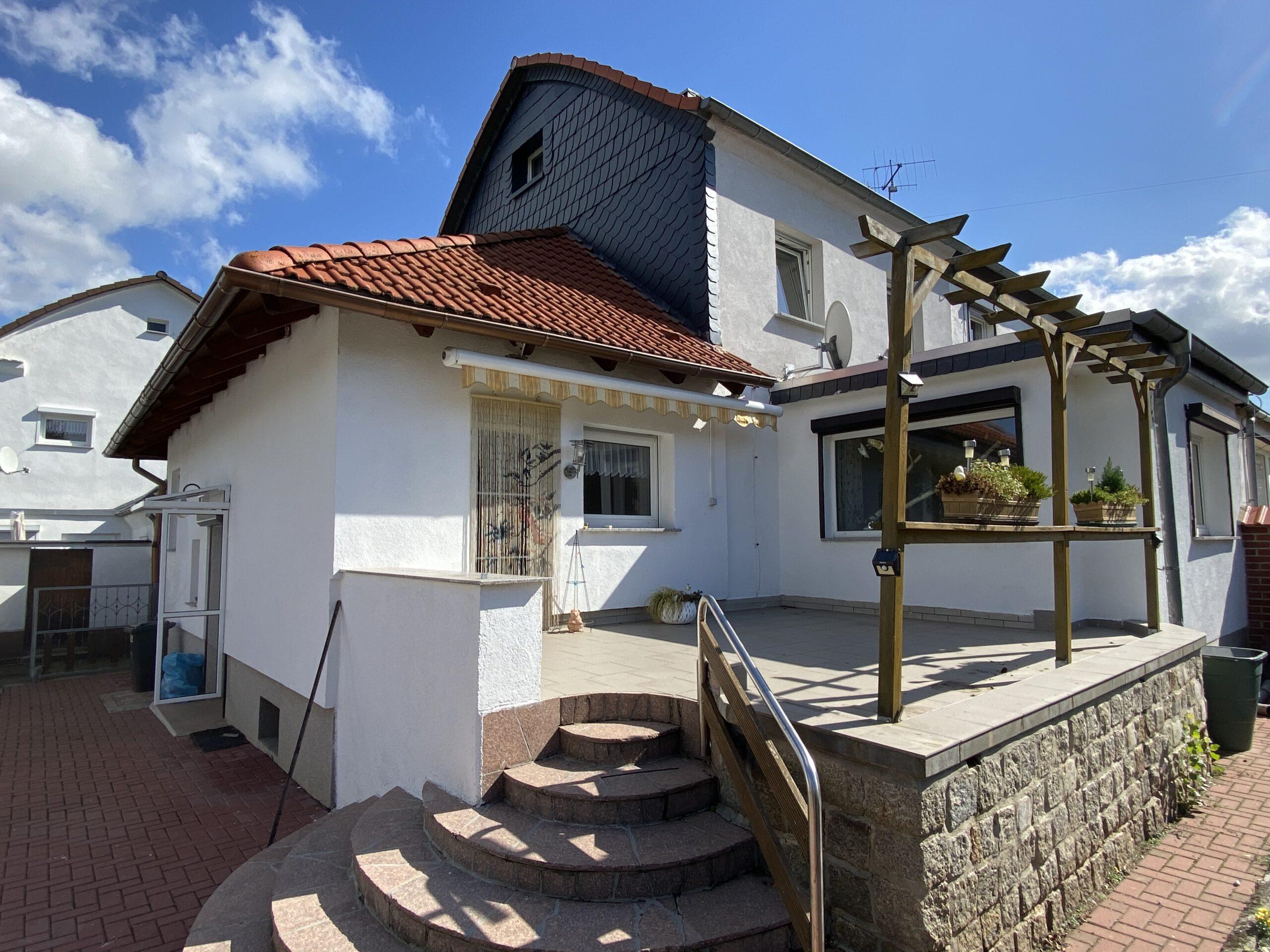 Einfamilienhaus Ellernstraße - Terrasse