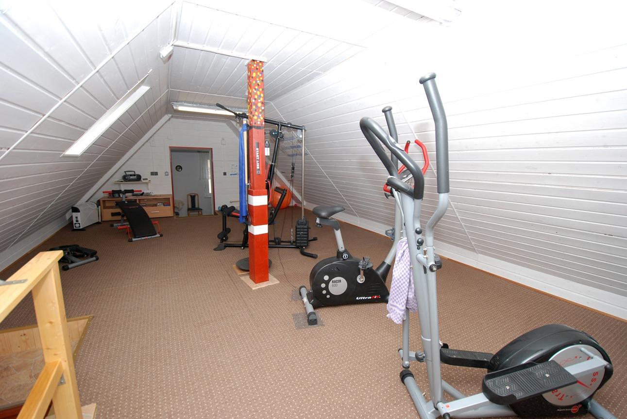Einfamilienhaus Langeneichstädt - Fitnessstudio im Obergeschoss