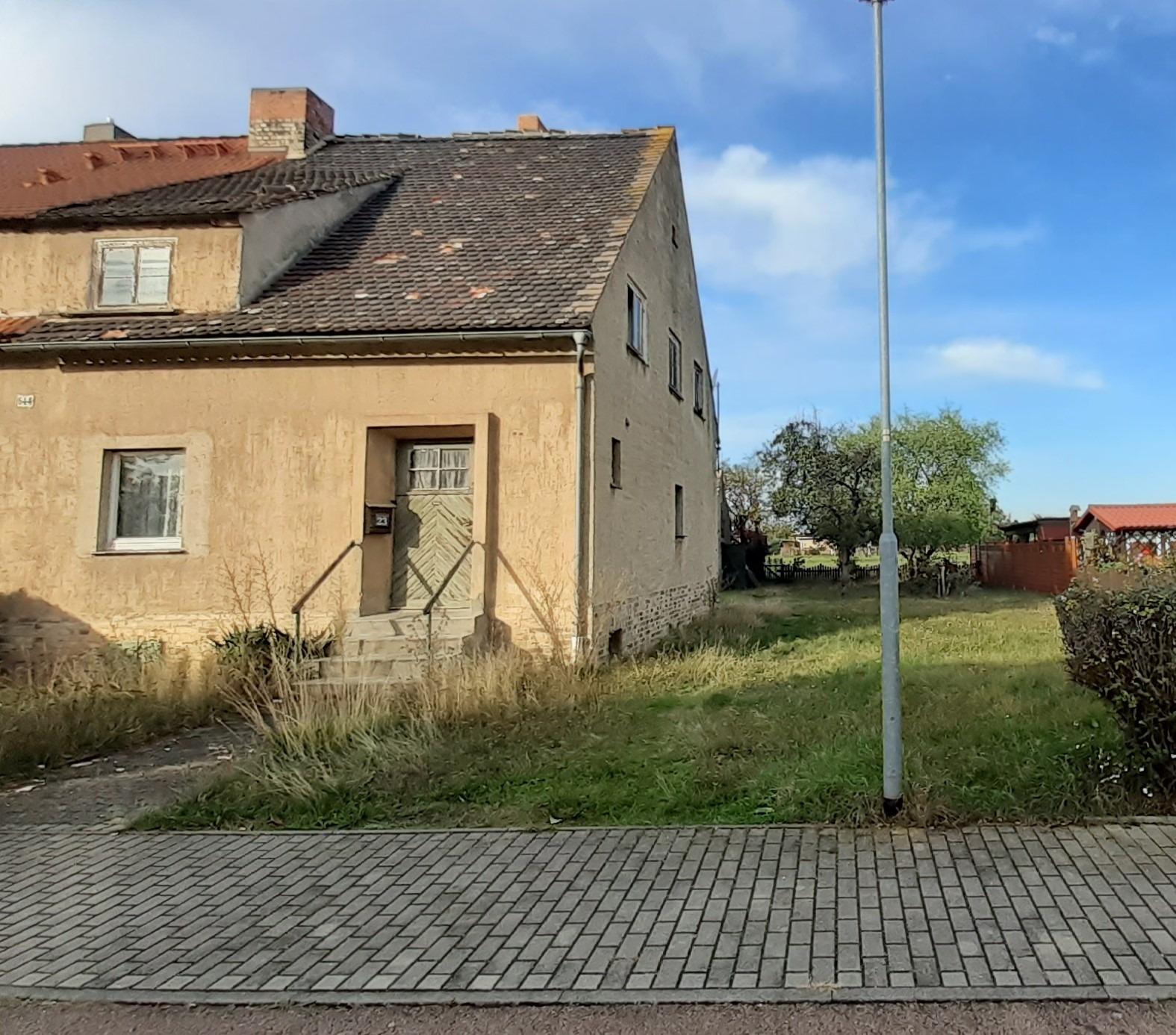 Einfamilienhaus Stöbnitz - Straßenansicht