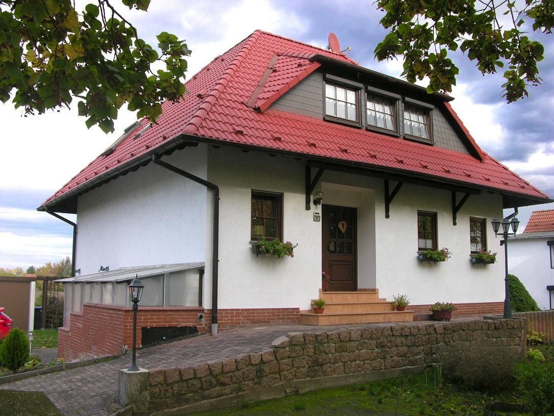 Einfamilienhaus auf dem Dautzsch - Straßenansicht