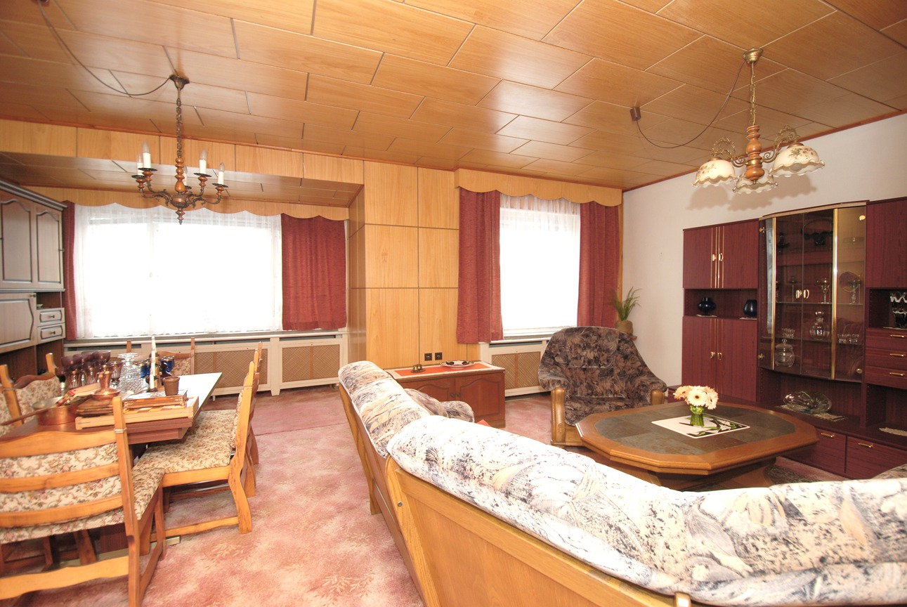 Einfamilienhaus Trotha - Wohnzimmer im Obergeschoß