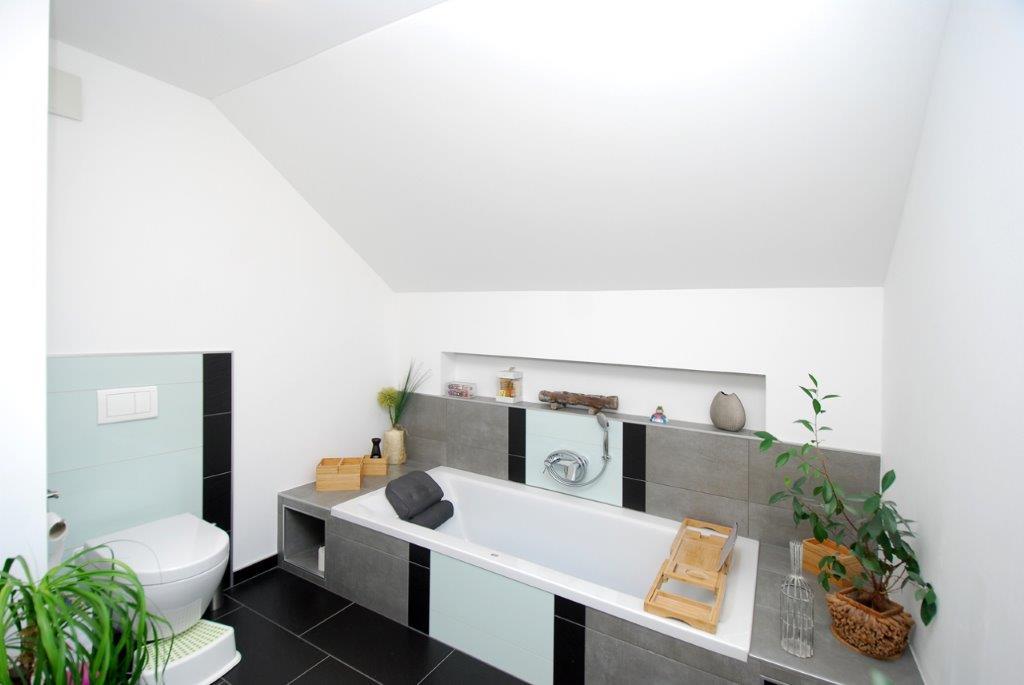 Einfamilienhaus Peterdorf - Badezimmerdetail