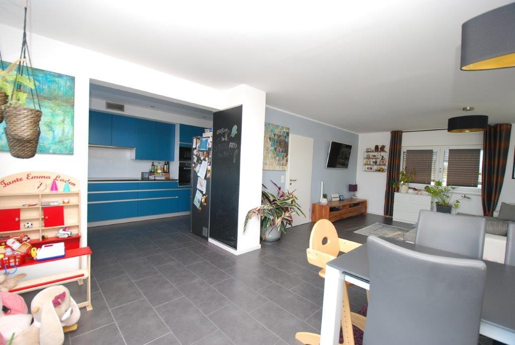 Einfamilienhaus Peterdorf - Wohnzimmerdetail / Küche