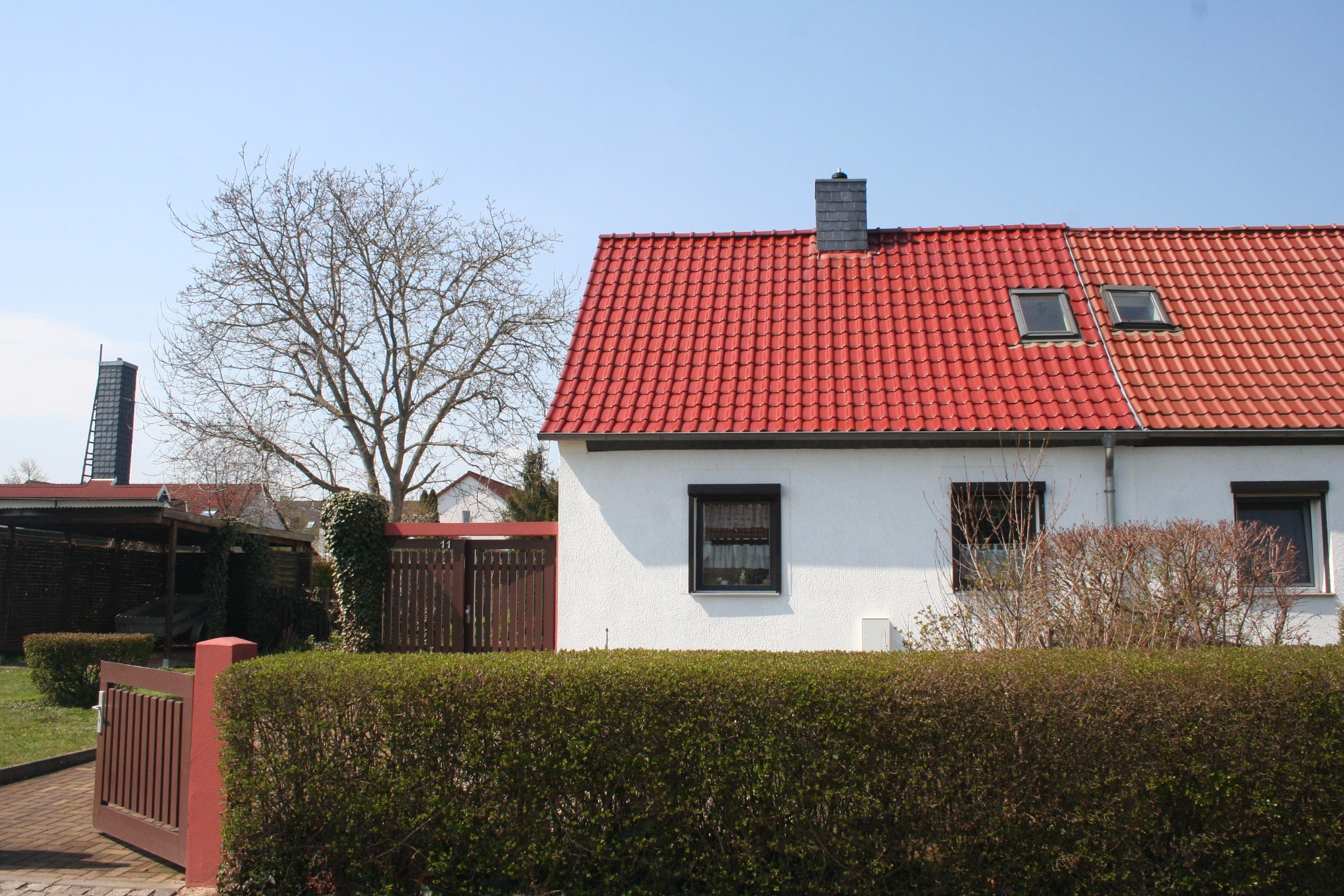 Einfamilienhaus Dautzsch - Straßenansicht
