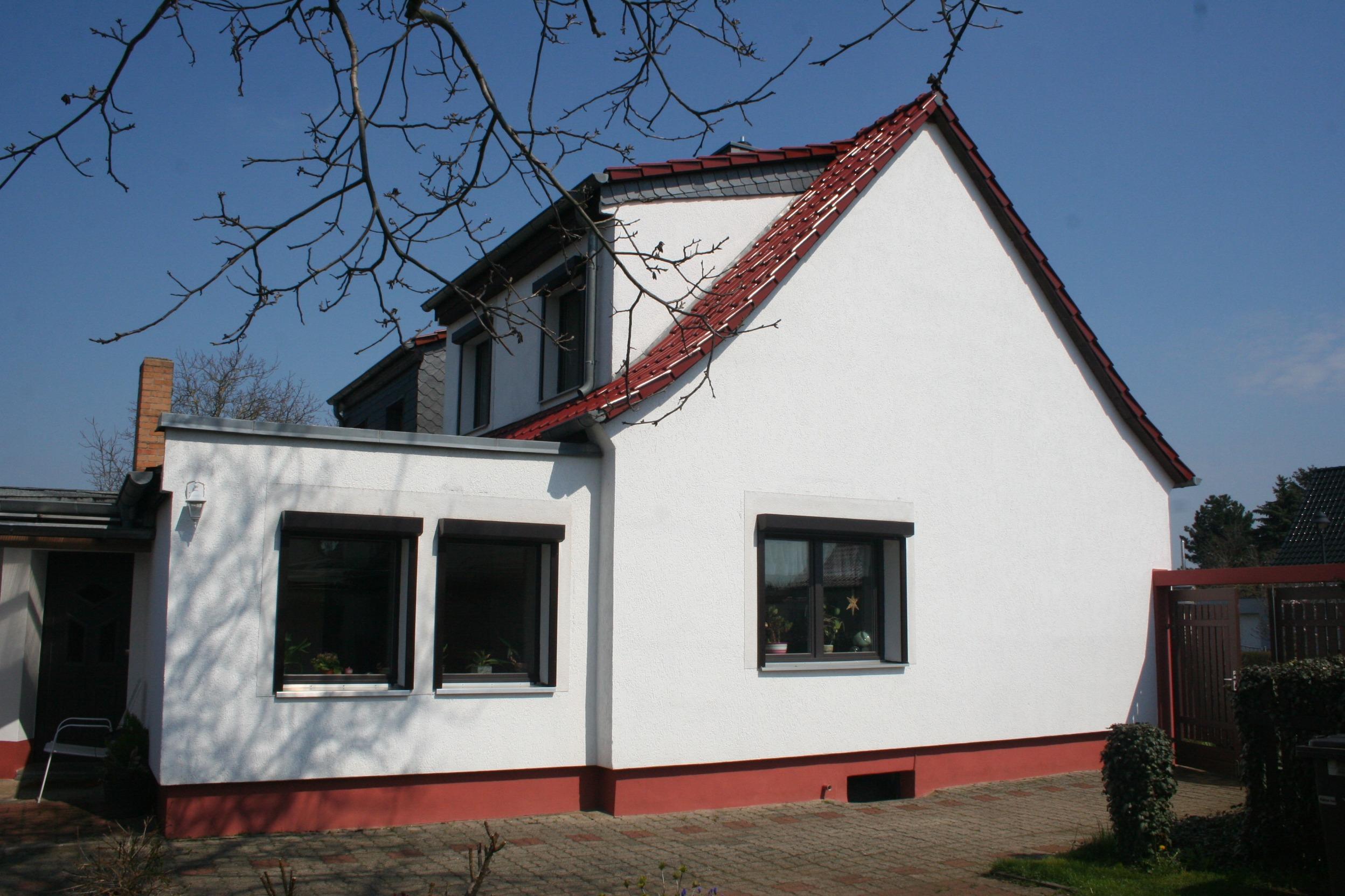 Einfamilienhaus Dautzsch Seitenansicht