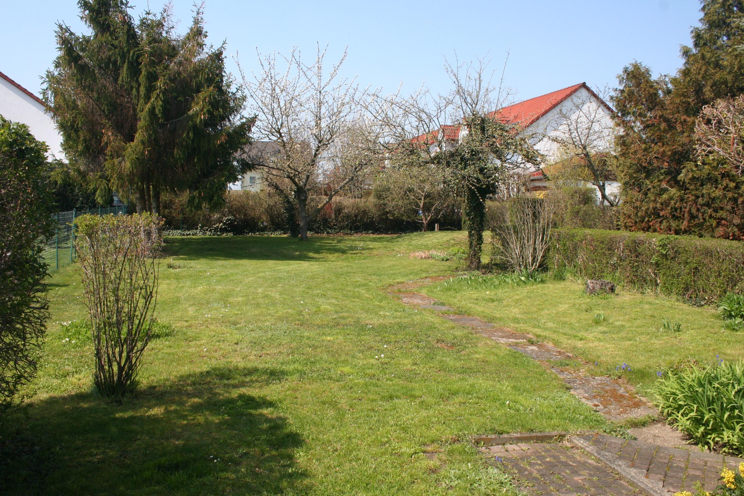 Einfamilienhaus Dautzsch Garten