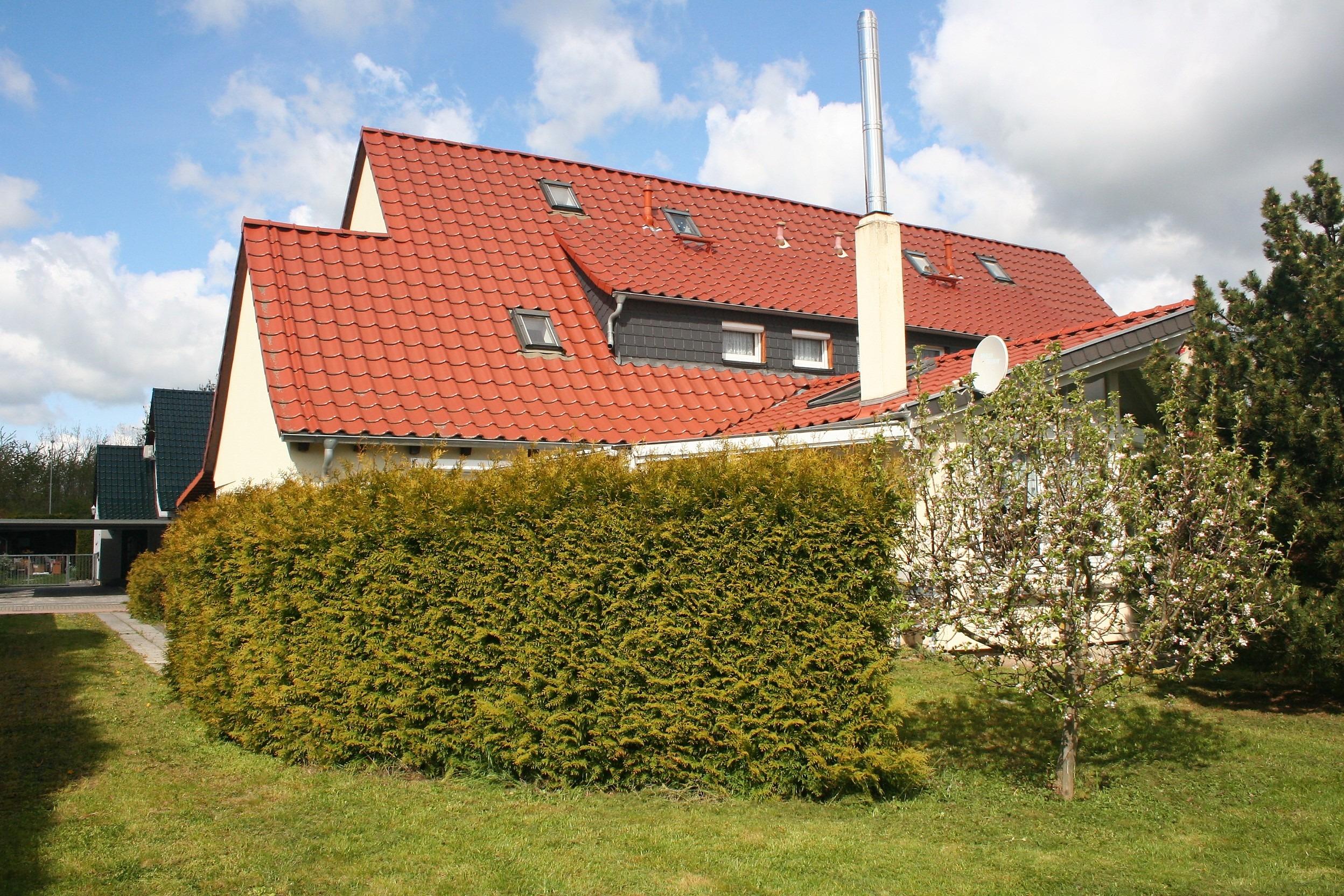 Einfamilienhaus Merseburg - Blick aus dem Garten