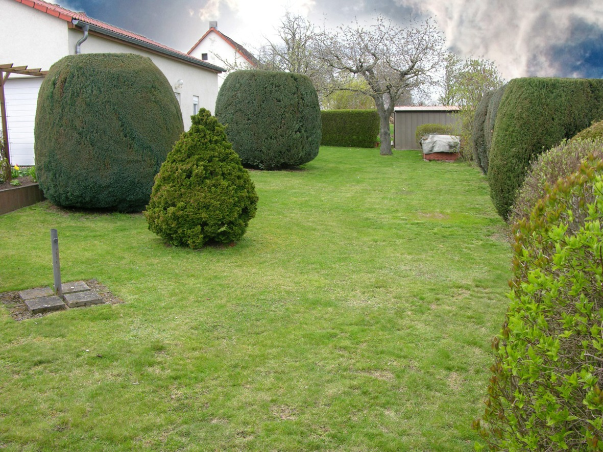 Einfamilienhaus Kaltenmark - Gartendetail