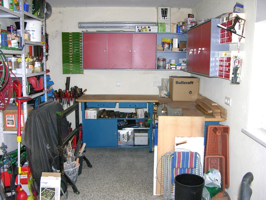 Einfamilienhaus Kaltenmark - Werkstatt im Nebengelass
