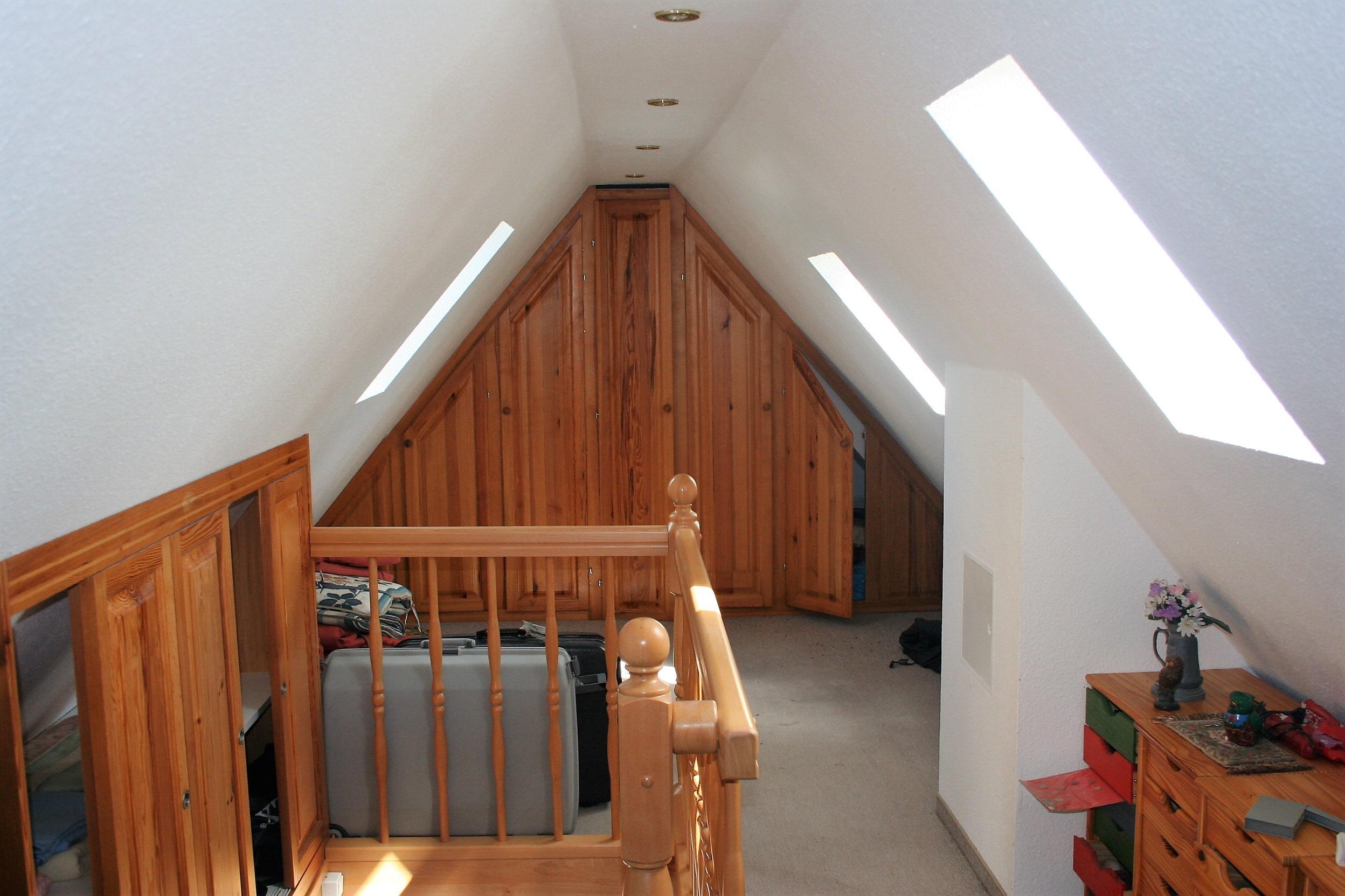 Einfamilienhaus Merseburg - ausgebautes Dachgeschoss