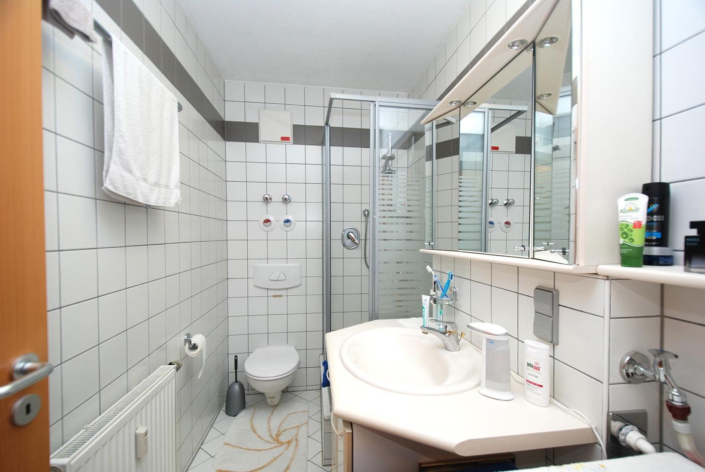 Eigentumswohnung Diemitz - Badezimmer