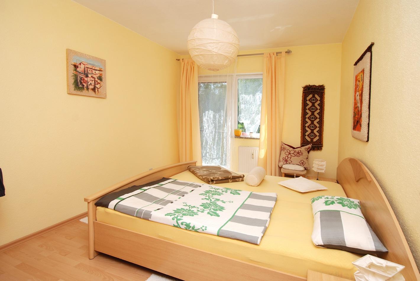 Eigentumswohnung Diemitz - Schlafzimmer