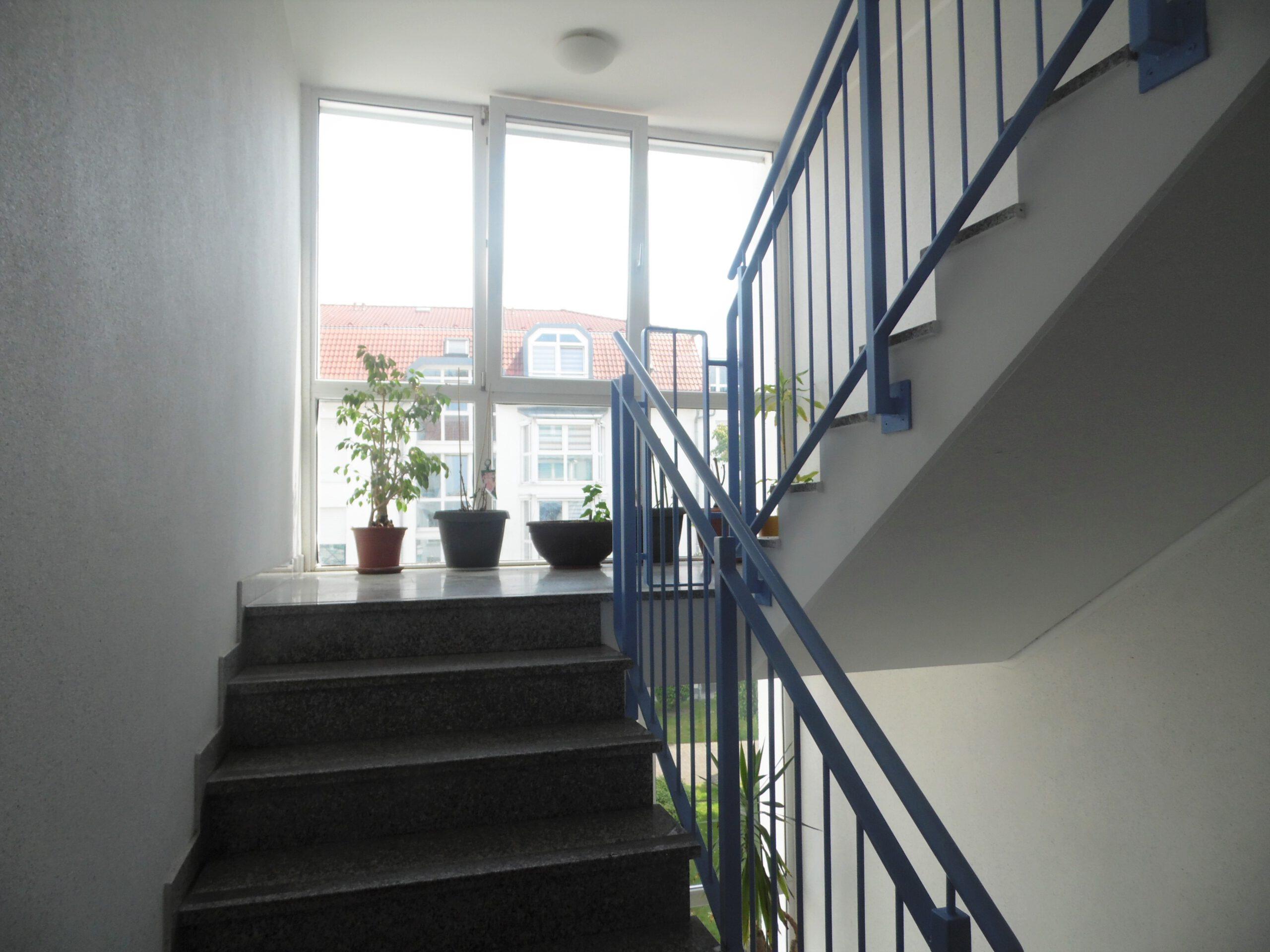 Eigentumswohnung Diemitz - helles Treppenhaus