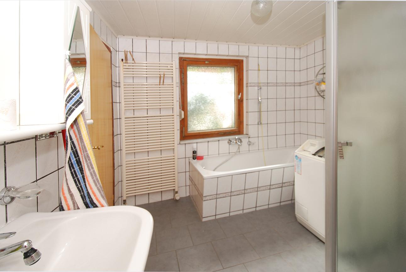 Einfamilienhaus Gerbstedt - Bad im Erdgeschoss