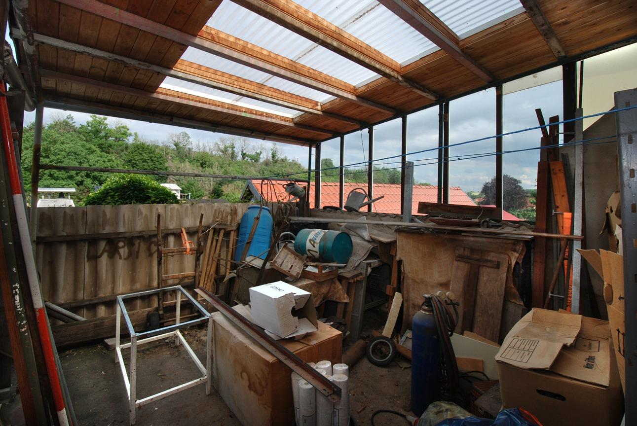 Einfamilienhaus Gerbstedt - Überdachte Terrasse