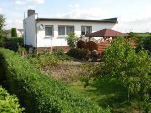 Einfamilienhaus in Kockwitz - Gartenansicht