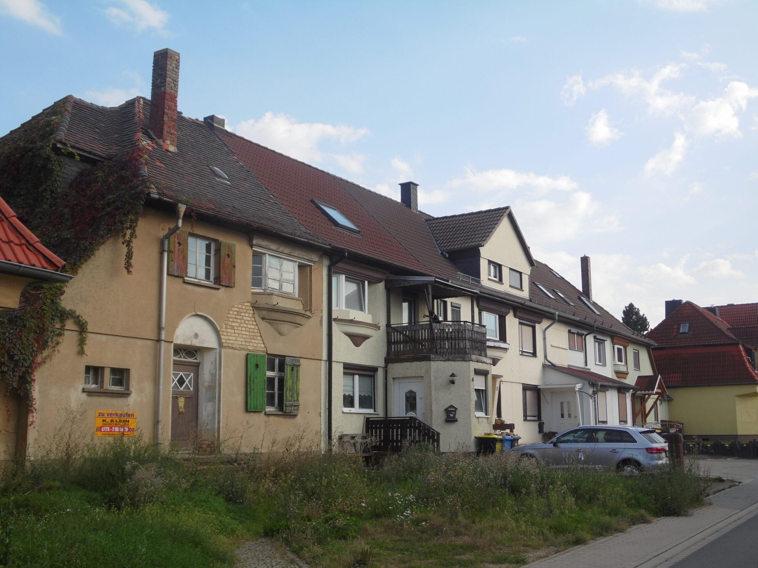Einfamilienhaus in Stöbnitz - Straßenansicht