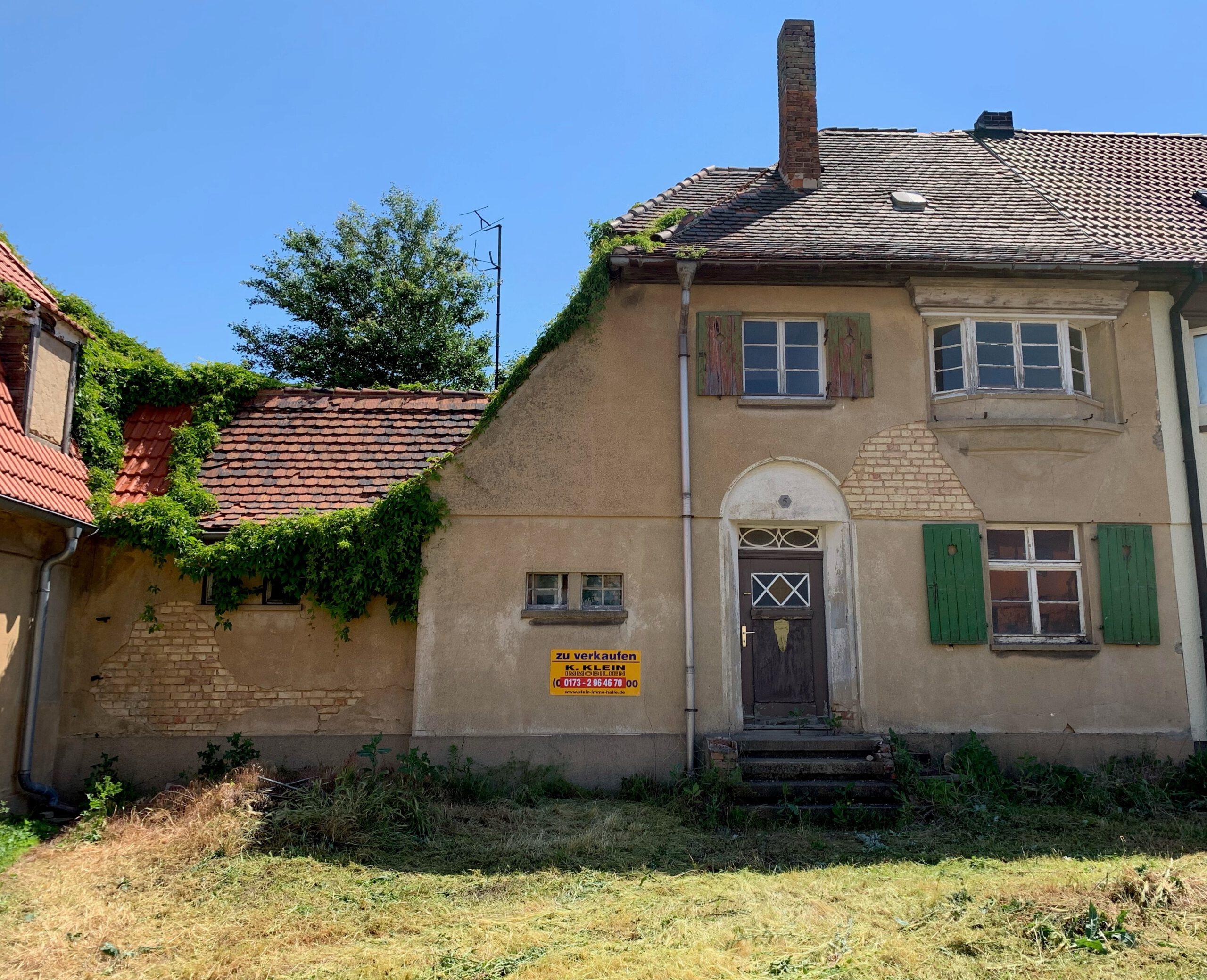 Einfamilienhaus in Stöbnitz - Vorderansicht