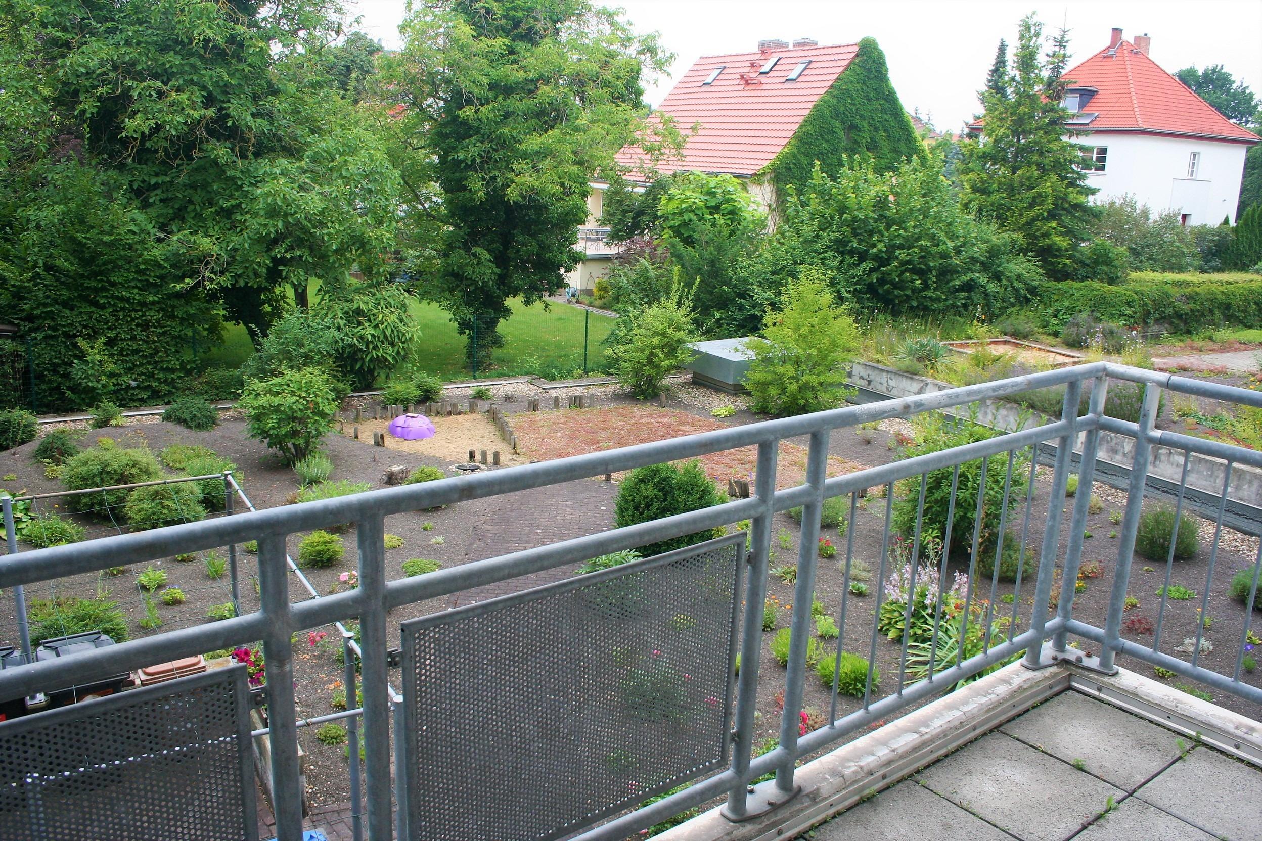Eigentumswohnung - Blick vom Balkon