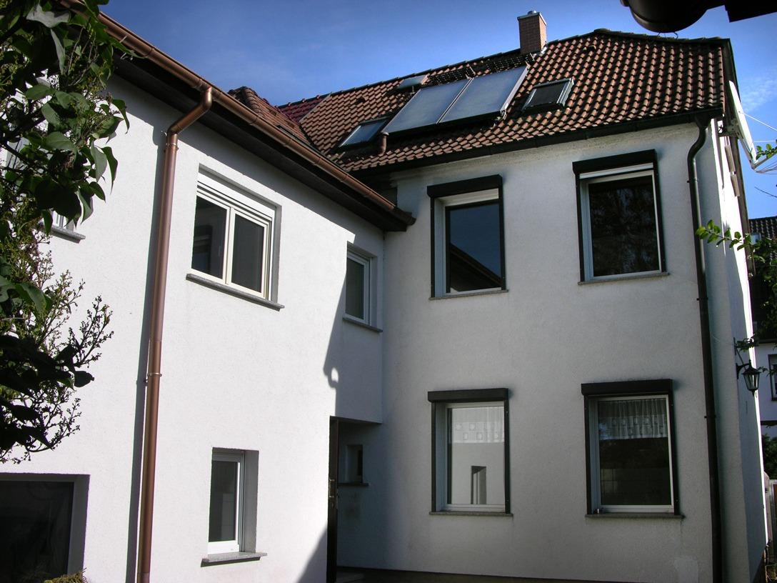 Ein- bis Zweifamilienhaus Frankleben - Hofansicht